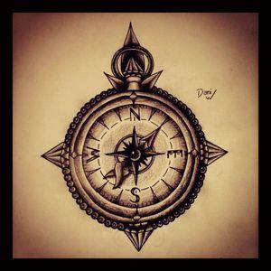 #design #decorative #compass #love #direction