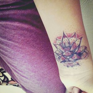 My fourth baby. Leaving those dark days behind #lotusflower #scarscoverup