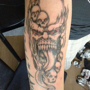 #tattooartist #tattoos #tattooart #demontattoo