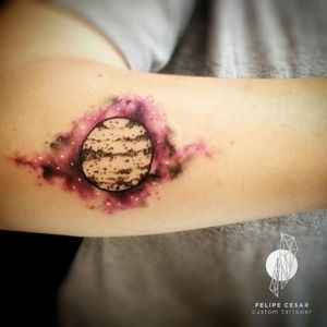 - planet. #felipecesar #watercolor #watercolortattoo #abstract #space #spacetattoo #planet #planettattoo #galaxy #galaxytattoo #aquarela #tatuagemaquarela #tatuagembrasil #brazil
