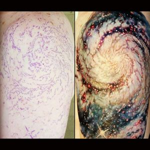 I want this! #galaxy #detail #space #colorful