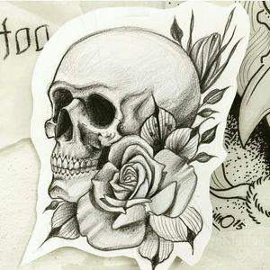 Skull drawing by Taioba For info or bookings pls contact us at art@royaltattoo.com or call us at + 45 49202770 #royal #royaltattoo #royaltattoodk #royalink #royaltattoodenmark #helsingørtattoo #ElsinoreInk #tatoveringidanmark #tatoveringihelsingør #toptattoo #toptattooartist #tatuagem #getatattoo #skull #skulltattoo #rose #rosetattoo