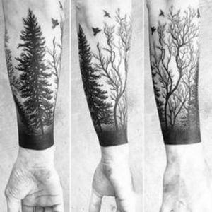 I would choose something like this...🔝 #dreamtattoo#tree