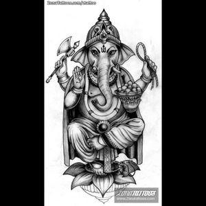 #ganeshtattoo #tattooinspiration