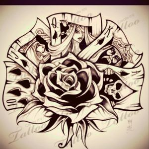 Some idea's to work from No.1  #Royalflush #rose