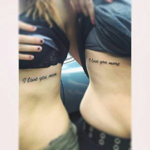Mommy & daughter tattoos