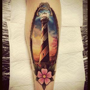 #lighthouse #detail #color #flower