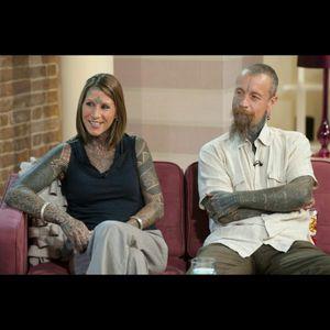 This is Britain's most tattooed couple. #tattooedcouple #britain #couple #coveredinink