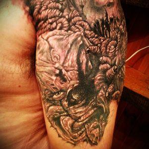 Spud at East Brunswick tattoo