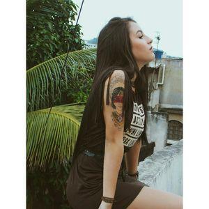 #me #tatooedgirl #rj