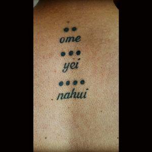 2,  3, 4 in nahuatl,  aztec lenguaje #mexicantattoo # nahuatl #mexico #numbers #mexicart