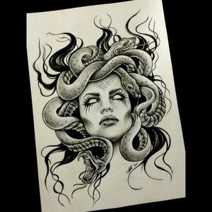 Medusa <3 #dreamtattoo #medusa #greekmythology #snakes