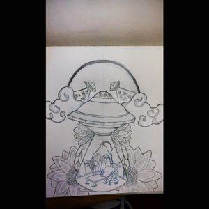 Sketch :3 #alien #sketch