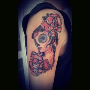 #deamuerte#tattooed#inklovers#eternalink#inking#love#tattooaddict#tattooapprentice