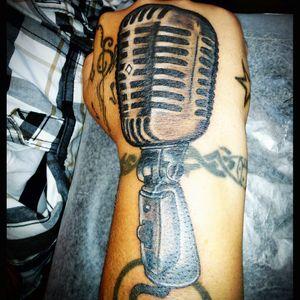 #microphone #handtattoo #handtattoos