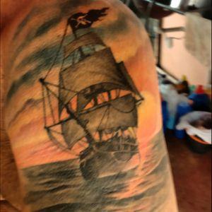 The navy pirate