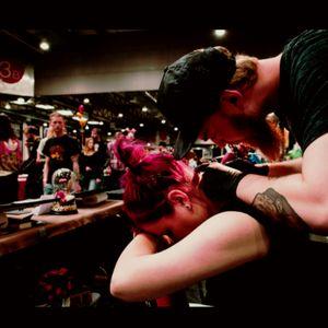 #gettattooed #tattooconvention #startofsomethingnew