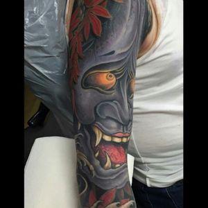 @arranburton #JapanTattoo #colortattoo #fullcolor #japanesetattoo #tattoo #amazingink #inkedmagazinefrance #amazingtattoo #inked #inkedup #tattooink #tattoos #tattooed #tattouage #tattooist #tattooink #