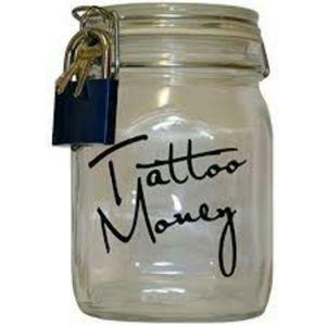 #refillmyjar #tattoomoney #inkaddict #nopainnogain #loyaltothecoil #lovetattoos #oldschooltattoo