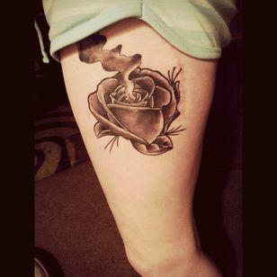 My smokin rose