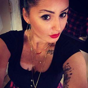#selfie #inkedgirl #cleavage