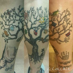 My Tree... it has grown throughout my life and sprouted all types of different fruits! #tree #treeoflife #treetattoo
