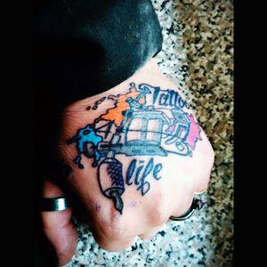#handtattoo #tattoolife #tattoomachine