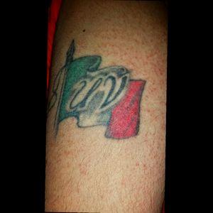 My first tattoo. I think I it got back when I was 19. Got it done by PJ at Old Town Tattoo in Saginaw.#mexicantattoo #tattoos #tattoo #bodyart #sagnasty #puremichigan
