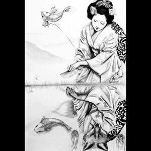 #dreamtattoo #kitsune