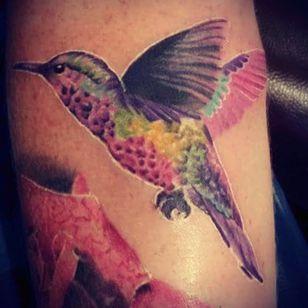 My hummingbird that I drew