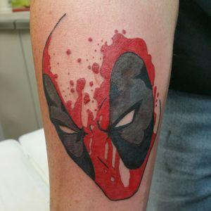 #deadpool #tattoo #marvel #okctattoos #sbbodyarts
