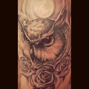 😁😁😁#tattoocolombia #hiptattoos #tattoorealistic #tattoobuho