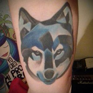 #dreamtattoo #lobo #wolf #aquarelltattoo #aquarela