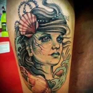 #mermaid #pearl #sea
