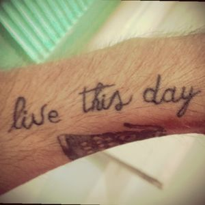 Everyday live, live everyday