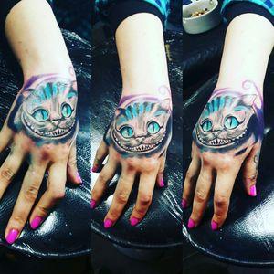 #tattoo #cheshirecattattoo