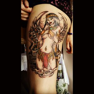 #cleopatra #pinup #egyptian #Egypttattoo