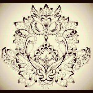 #sternumtattoo #owl