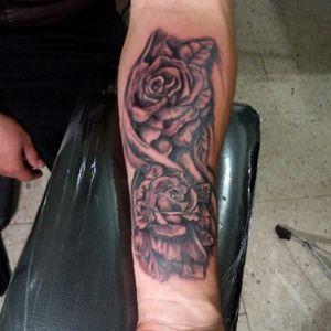 Black and grey #dinamicink #diabla_tattoo