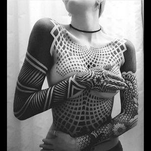 #bodysuit  #amazingink  #blacktattooart