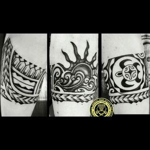 Polynesian tattoo by Randiago Tribe Tattoo in Fuerteventura, Spain. #polynesiantattoo #freehandtattoo