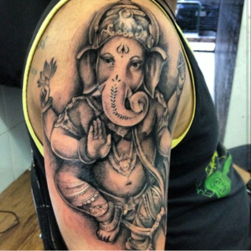 #tattoo #ganesh #ganeshtattoo