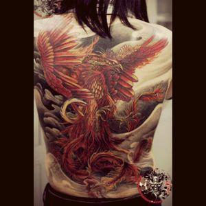 #dreamtattoo #phoenix
