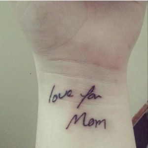 Love and miss you, Mom. #favouritepiece #loveyou #missyou