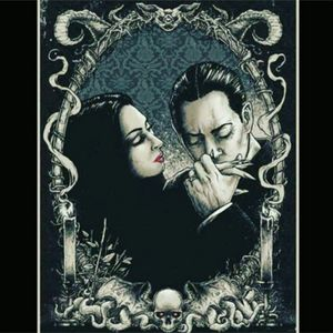 Morticia & Gomez #AddamsFamily #addamsfamilytattoo #MorticiaAddams #gomezaddams #bestlovestory #ever #dreamtattoo @amijames