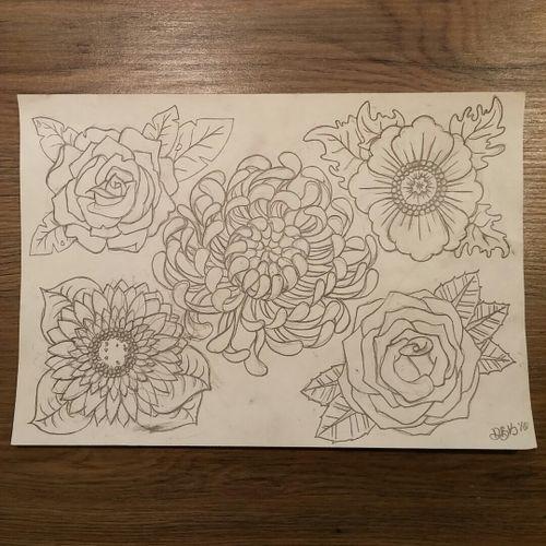 #sketchbook #flowers #flowersketch