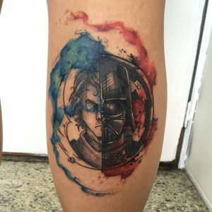 #watercolor #tattooart #aquarela #tattooaquarela #JohnNeedle #RJ