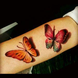 #buterflytattoo #buterflylady #representmyfathergoes @pedro_tattoo23