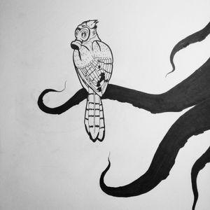#drawing #bird