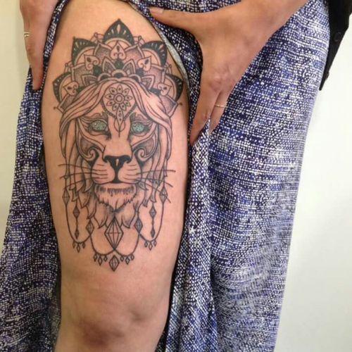 #lion #spiritanimal #spiritual #mandala
